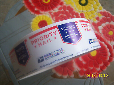 ROLL of USPS PRIORITY MAIL LABELS or/and STICKERS!1000 count NEW&FRESH!