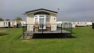2 bed, 6 berth caravan to hire in Ingoldmells.Sat 14th July.Dog Friendly