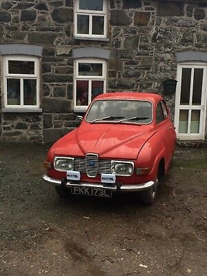 saab 96 v4 classic tax exempt rally