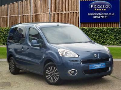5 seat 2015 Peugeot Partner 1.6HDi Tepee Wheelchair Accessible 28,000 miles - M1