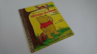Winnie-the-Pooh and Tiger, Walt Disney, a little Golden Book by A.A. Milne 1928