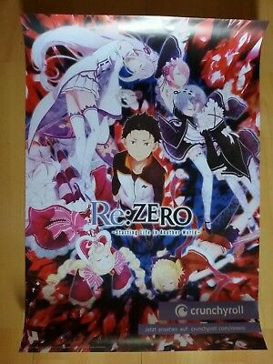 Re: Zero Crunchyroll Riesenposter Poster Re Manga Anime RAR Shoco