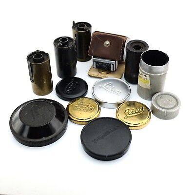 Vintage Parts & Accessories caps film leica and other brands