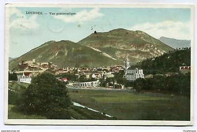 CPA - Carte postale-FRANCE- Lourdes - Vue Panoramique - 1908 (CP3367)