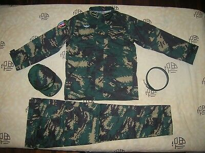 07's series China PLA Special Forces General Digital Camo Combat Clothing,Set