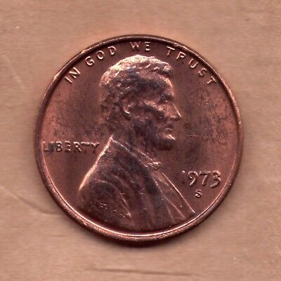 1973 S Penny   UNC   SELL OFF   Slot Fillers w/problems   (73S0426)