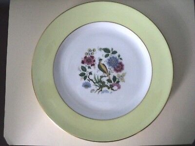 Vintage Royal Grafton Dish With Peacock (Decorative Plate)