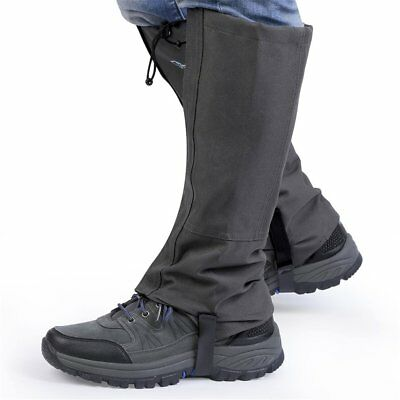 Waterproof Climbing Snow Legging Boot Gaiters Trouser Protector Covers Wrap GP