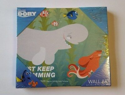 Disney Finding Dory 6.5 X 8 Inches Wall Art Brand New