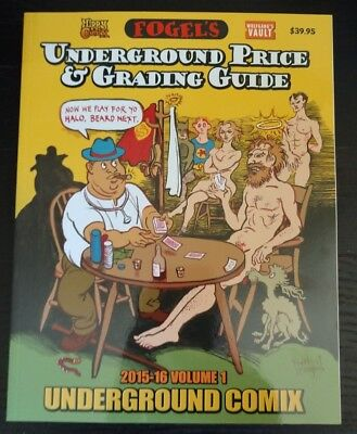Hippy Comix Fogel's Underground Price And Grading Guide Signed And Case Fresh!