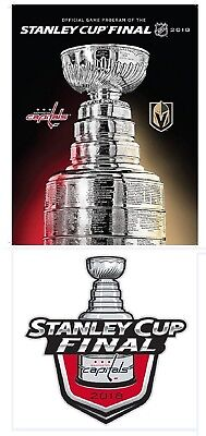 2018 Stanley Cup Final Program In Stock Ships Now!! Washington Capitals Knights