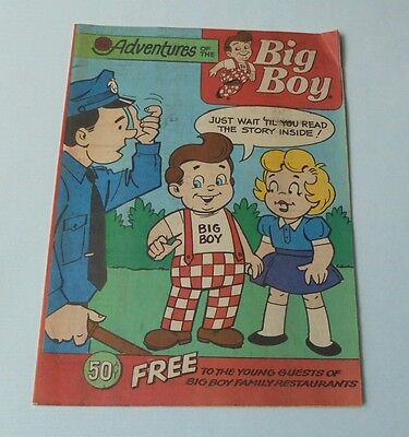 Adventures Of The Big Boy Restaurant Comic Book #394 Earth Day 1990
