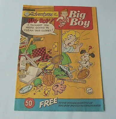 Adventures Of The Big Boy Restaurant Comic Book #401 High Profit Adventure 1991