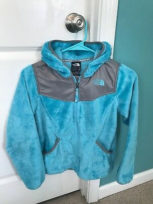 The North Face Kids Girls Fleece Oso Hoodie Jacket Size Youth Medium 10/12
