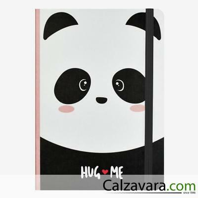Legami - Notebook Taccuino Photo - Large cm 17x24 - a Righe Lined - Panda