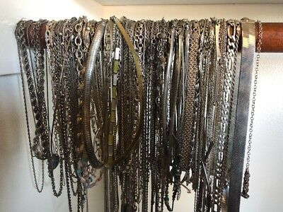 Scrap Silver .925 Scrap Wear All Wearable Rings Chains Bracelets 100gram Lots