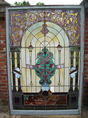 Large stained glass window beautiful features   (SG 1486)