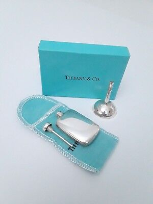 Vintage Tiffany & Co Sterling Silver Perfume Bottle and Funnel