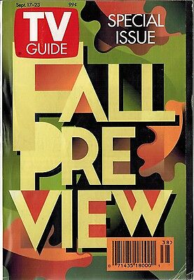TV Guide - Fall Preview Issue September 17 - 23 1994