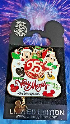 Disney Mickeys Very Merry Christmas Party 25th anniversary LE pin