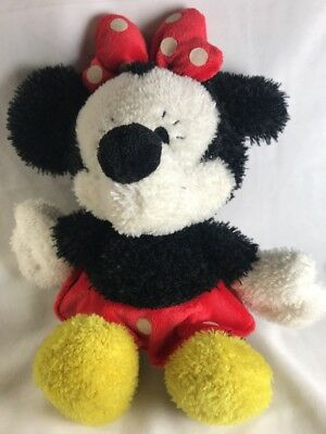 """Disney 12"""" Minnie Mouse Little Ones Curly Plush  DD15404"""