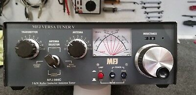 MFJ-989C 3000 watt tuner untested not working for parts only.