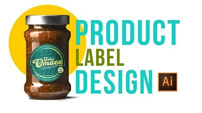 Custom PRODUCT LABEL Design | Product Packaging Design | Professional Graphics