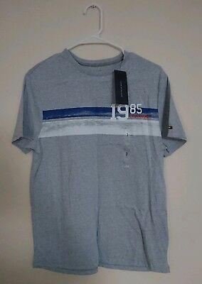 27d37447 Tommy Hilfiger Mens Graphics New York City 1985 t-shirt Size: Small