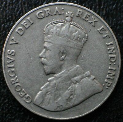 1926 Far 6 Canada 5 Cents ~ Extremely Rare Key Date Canadian 5C Nickel Coin
