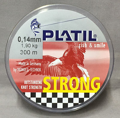 Platil Strong 1.90kg x 300m Mono Line - Brown *New in Packaging*