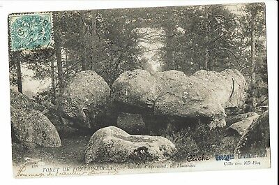 CPA - Carte postale- FRANCE- Fontainebleau -Rochers d' Apremont ,1904