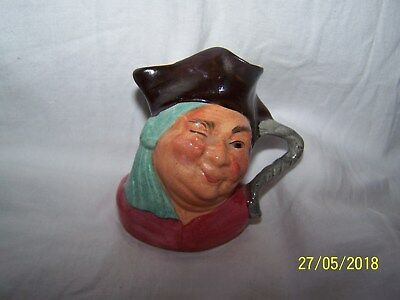 Toby Character Jug hand painted Kelsboro Ware Jolly Roger ~ 7cms