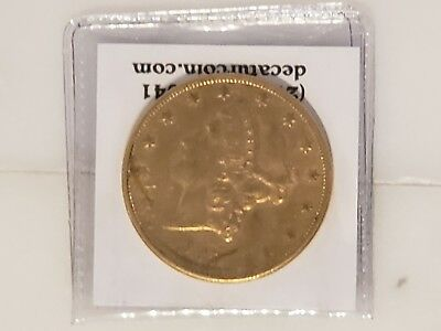 1905-S $20 Double Eagle Nice Original Coin .900 Fine Gold .96750oz AU