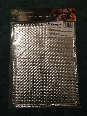 Heat shield DCI SheetHot Exhaust Engine 600C Nissan Toyota Holden Ford Datsun