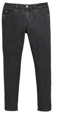 NEW V by Very Skinny Jeans With Stretch Charcoal - Age 16