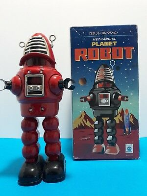 Robby the Robot - Mechanical Planet Robot – Tin Toy