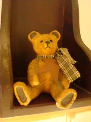 "E. Smithson Figurine Bear Signed 4.5"" high"