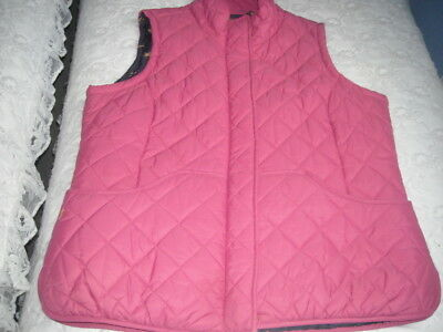 Pink Quilted Gilet By Joules 20