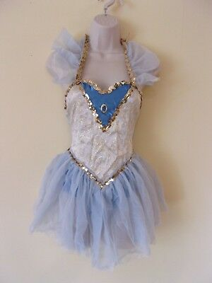 """Curtain Call Costume Lot 17 """"Sashay"""" Leotard w/ Attached Skirt"""
