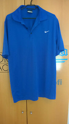 Nike dri-fit polo blau Gr. L