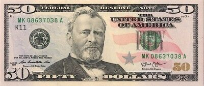 50 Dollars Serie 2013  District Dallas UNC