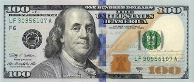 100 Dollars Serie 2009A  District Atlanta UNC