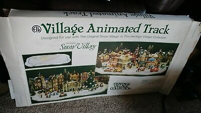 Department 56 snow village track christmas holiday decoration
