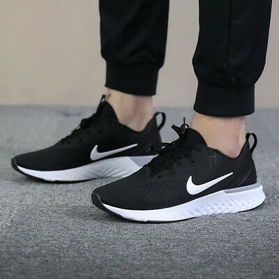 d8dc7d14 NIKE ODYSSEY REACT Black/White/Grey Men's Running Shoes Comfy Lifestyle  Sneakers