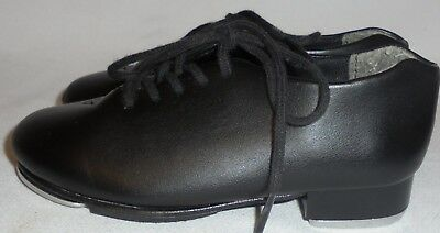 Capezio,  Girl's Black Tap Shoes, Size 10 M, 7 In. Long, 2 1/2 In. Wide