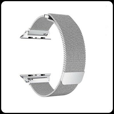Milanese Loop Stainless Steel Watch Band Apple Series 1,2,3 Size 42mm