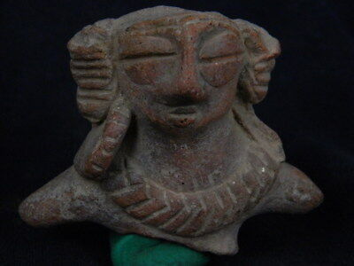 Ancient Teracotta Mother Goddess Torso Indus Valley 600 BC No Reserve  #TR750