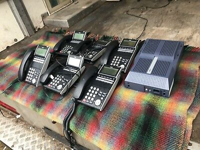 NEC SV8100 Telephone system 6x Dt300 Hand Sets VGC. Cheap Look Look
