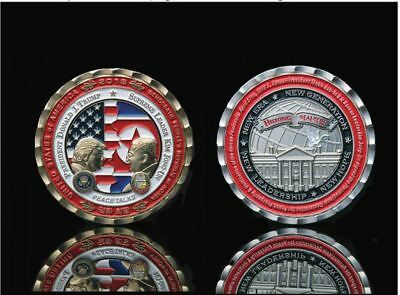 PRESALE - Trump - Kim Jong-Un NoKo Peace Talks / Summit Commemorative Coin