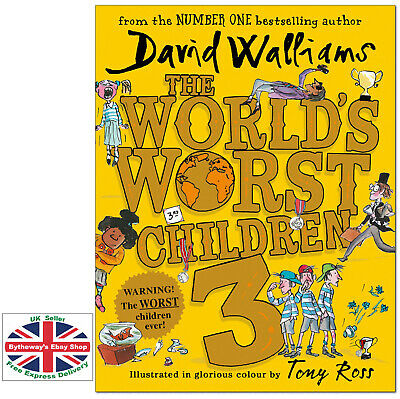 The World's Worst Children 3 - David Walliams (Hardcover) *BRAND NEW*